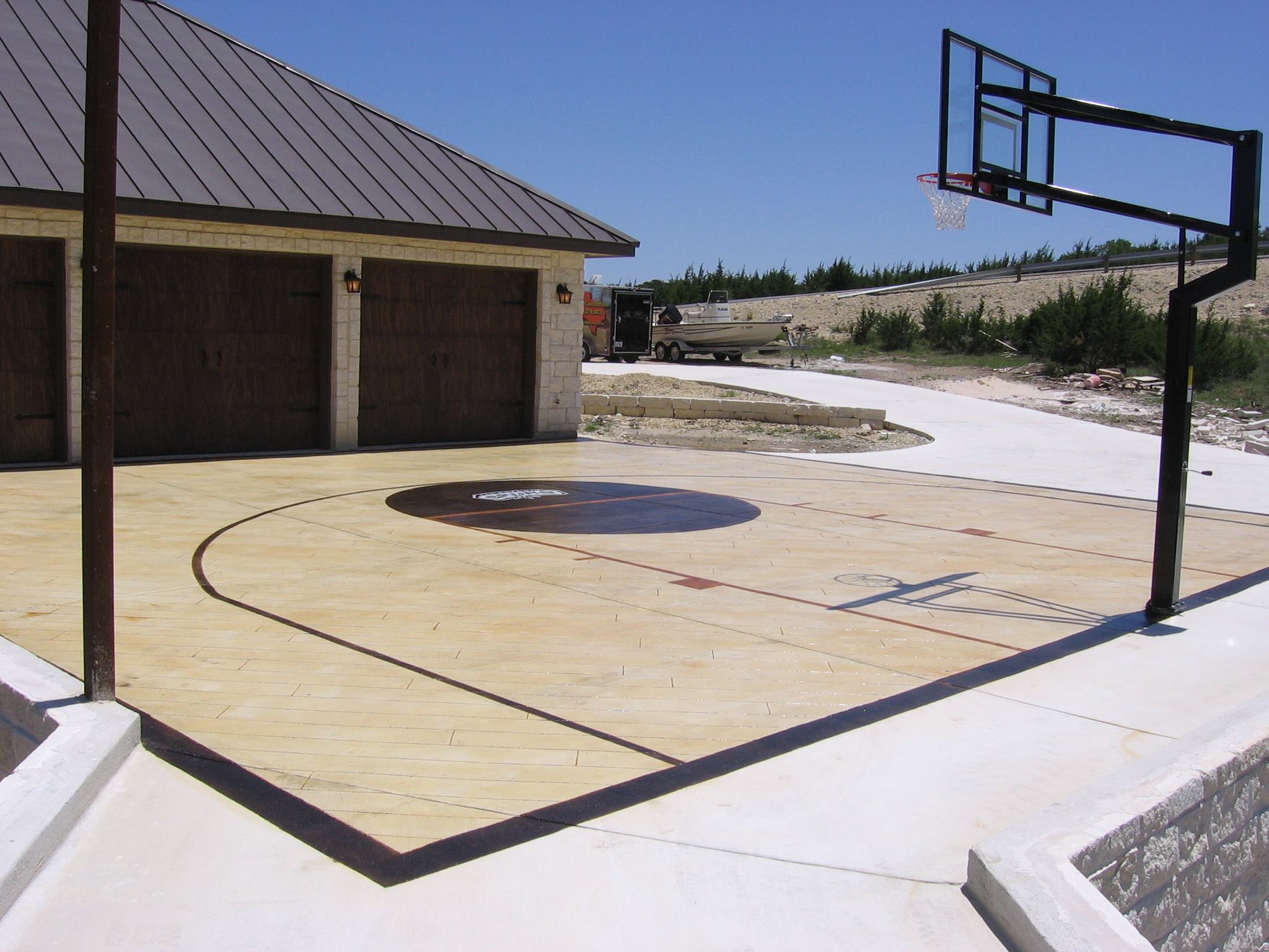 Sport Courts Basketball Courts And Tennis Courts