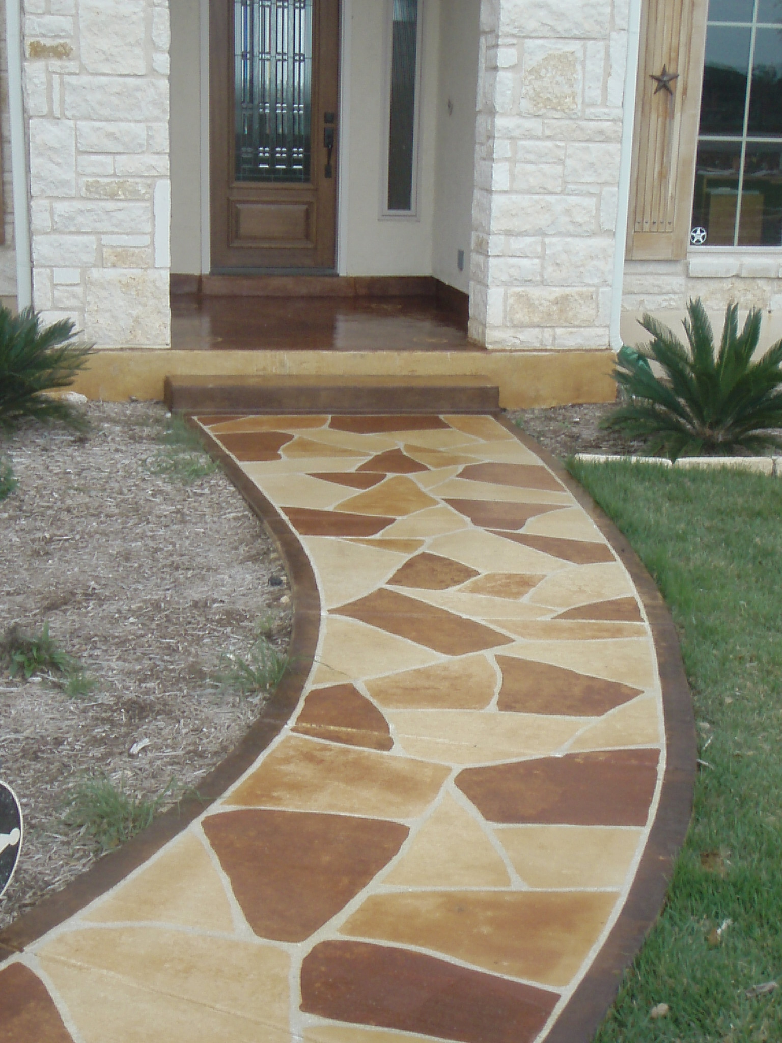 Stained Concrete Porches And Patios