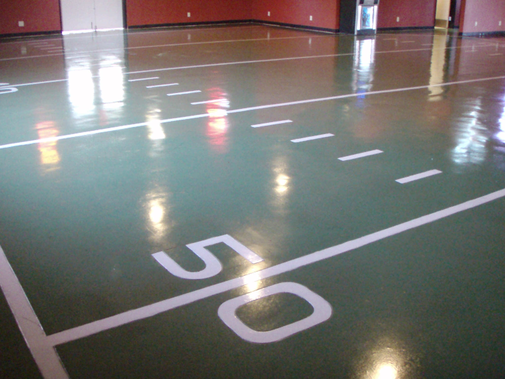 Commercial Stained Concrete